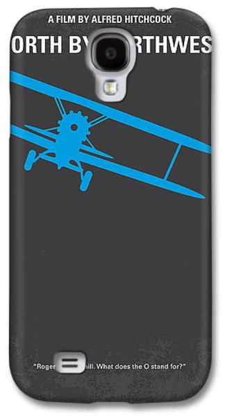 No535 My North By Northwest Minimal Movie Poster Galaxy S4 Case