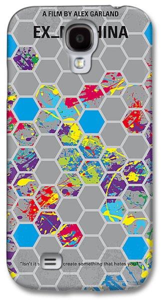 No537 My Ex Machina Minimal Movie Poster Galaxy S4 Case by Chungkong Art