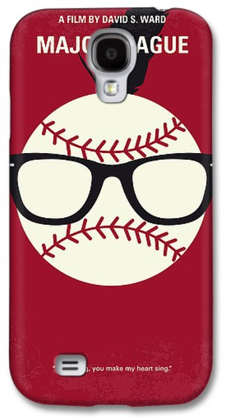 No541 My Major League Minimal Movie Poster Galaxy S4 Case by Chungkong Art
