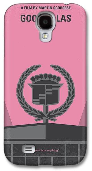 No549 My Goodfellas Minimal Movie Poster Galaxy S4 Case by Chungkong Art