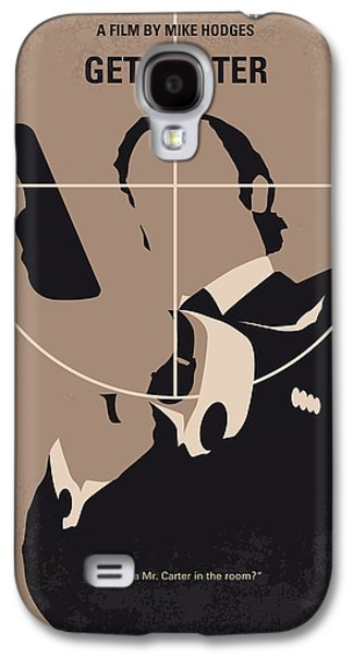 No557 My Get Carter Minimal Movie Poster Galaxy S4 Case by Chungkong Art