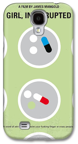 No564 My Girl Interrupted Minimal Movie Poster Galaxy S4 Case by Chungkong Art
