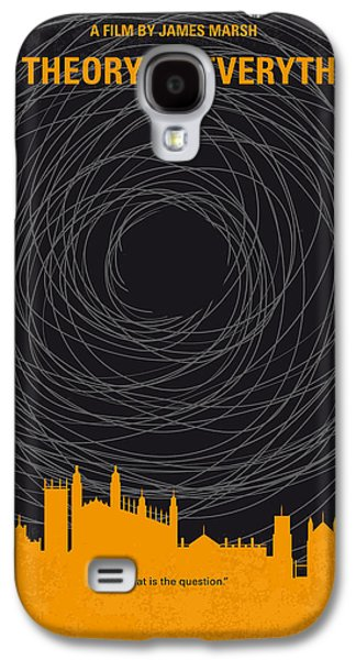 No568 My The Theory Of Everything Minimal Movie Poster Galaxy S4 Case
