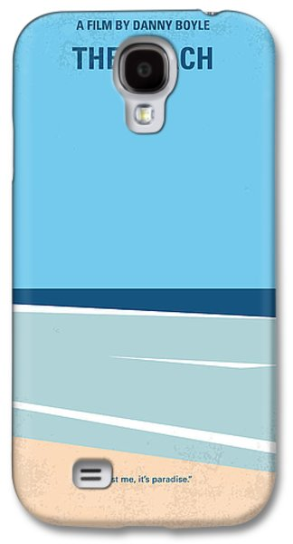 Minimalist Galaxy S4 Case - No569 My The Beach Minimal Movie Poster by Chungkong Art