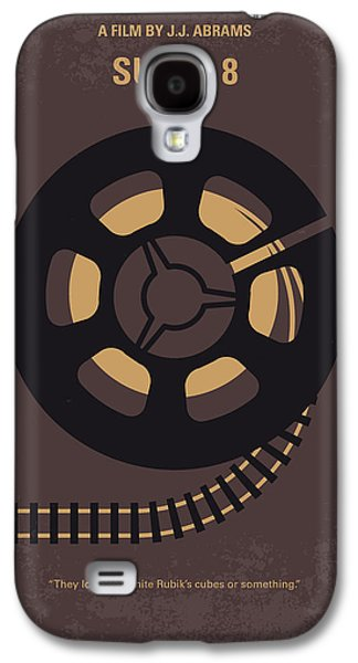 Train Galaxy S4 Case - No578 My Super 8 Minimal Movie Poster by Chungkong Art