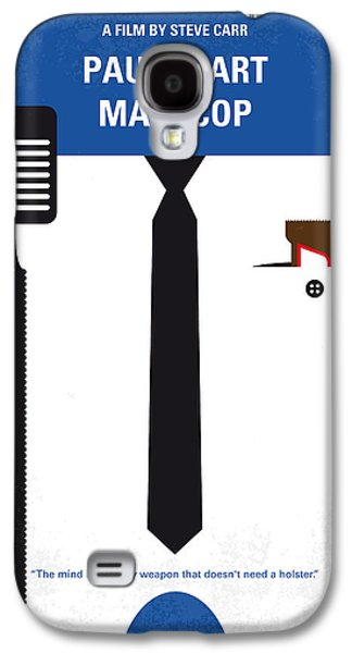 No579 My Paul Blart Mall Cop Minimal Movie Poster Galaxy S4 Case by Chungkong Art