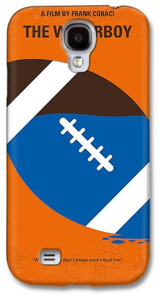 No580 My The Waterboy Minimal Movie Poster Galaxy S4 Case by Chungkong Art