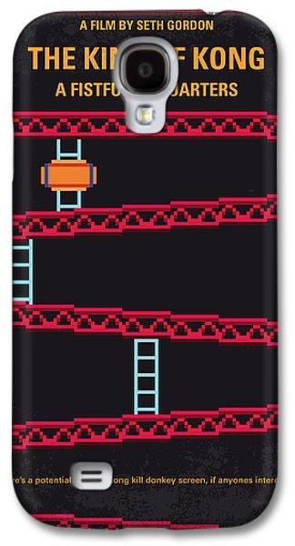 No581 My King Of Kong Minimal Movie Poster Galaxy S4 Case by Chungkong Art