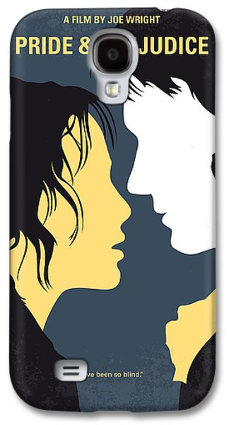 No584 My Pride And Prejudice Minimal Movie Poster Galaxy S4 Case