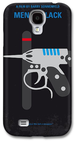 No586 My Men In Black Minimal Movie Poster Galaxy S4 Case by Chungkong Art
