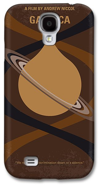No588 My Gattaca Minimal Movie Poster Galaxy S4 Case by Chungkong Art