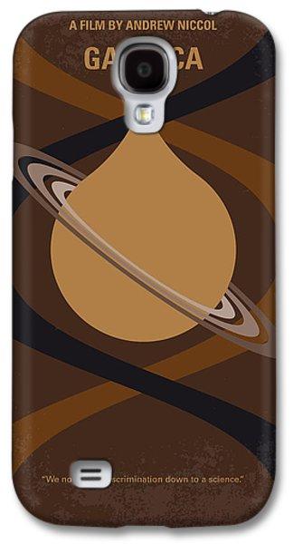 No588 My Gattaca Minimal Movie Poster Galaxy S4 Case