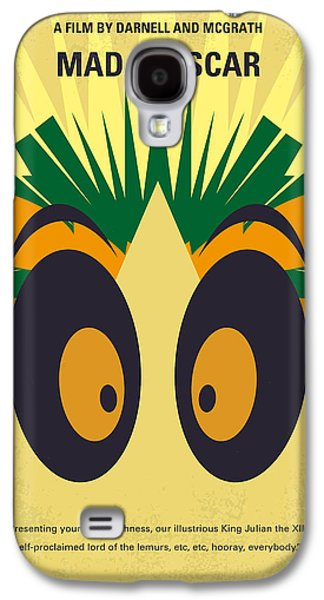 No589 My Madagascar Minimal Movie Poster Galaxy S4 Case by Chungkong Art