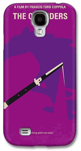 No590 My The Outsiders Minimal Movie Poster Galaxy S4 Case by Chungkong Art