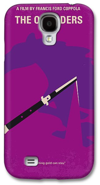 No590 My The Outsiders Minimal Movie Poster Galaxy S4 Case