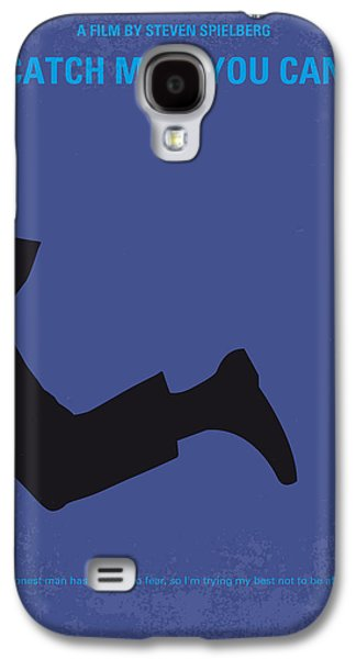 No592 My Catch Me If You Can Minimal Movie Poster Galaxy S4 Case
