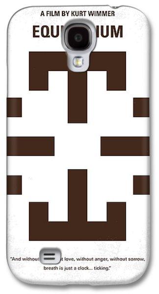 No595 My Equilibrium Minimal Movie Poster Galaxy S4 Case