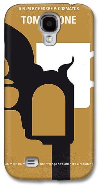 No596 My Tombstone Minimal Movie Poster Galaxy S4 Case