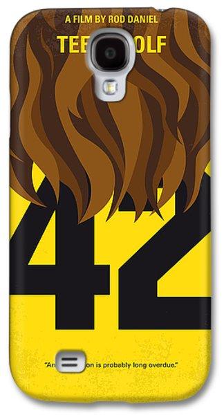 No607 My Teen Wolf Minimal Movie Poster Galaxy S4 Case by Chungkong Art