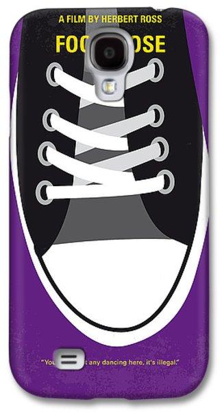 No610 My Footloose Minimal Movie Poster Galaxy S4 Case by Chungkong Art