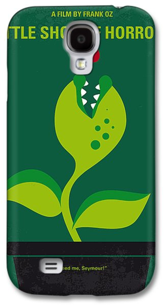 No611 My Little Shop Of Horrors Minimal Movie Poster Galaxy S4 Case by Chungkong Art
