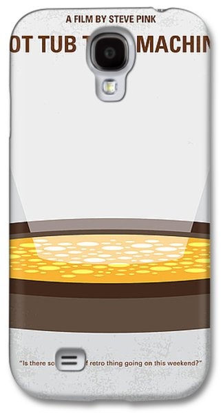 No612 My Hot Tub Time Machine Minimal Movie Poster Galaxy S4 Case by Chungkong Art