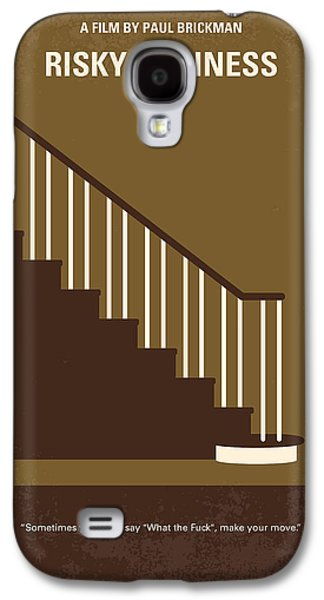 No615 My Risky Business Minimal Movie Poster Galaxy S4 Case by Chungkong Art