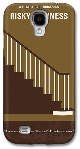 Lake Michigan Galaxy S4 Case - No615 My Risky Business Minimal Movie Poster by Chungkong Art