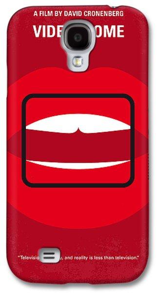 No626 My Videodrome Minimal Movie Poster Galaxy S4 Case by Chungkong Art