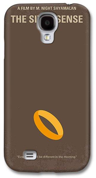 No638 My The Sixth Sense Minimal Movie Poster Galaxy S4 Case by Chungkong Art
