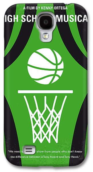 No633 My High School Musical Minimal Movie Poster Galaxy S4 Case