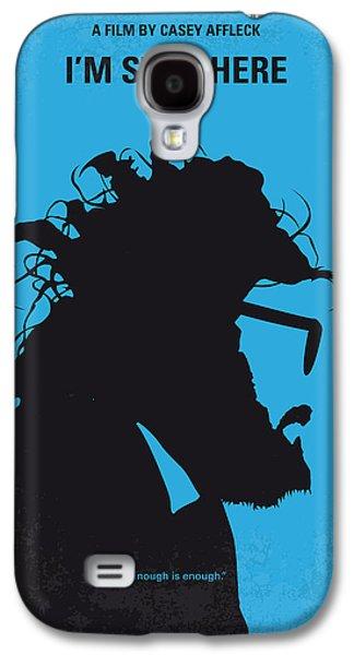 No637 My I Am Still Here Minimal Movie Poster Galaxy S4 Case by Chungkong Art
