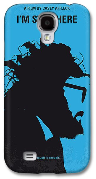No637 My I Am Still Here Minimal Movie Poster Galaxy S4 Case