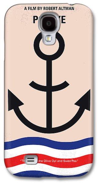 No648 My Popeye Minimal Movie Poster Galaxy S4 Case by Chungkong Art