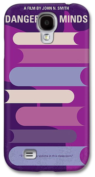 No655 My Dangerous Minds Minimal Movie Poster Galaxy S4 Case by Chungkong Art
