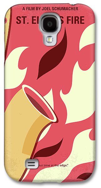 No657 My St Elmos Fire Minimal Movie Poster Galaxy S4 Case by Chungkong Art