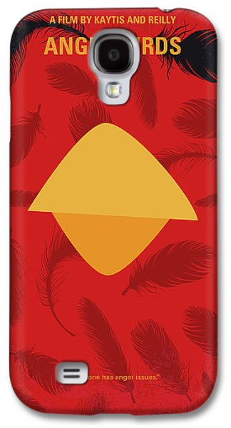 No658 My Angry Birds Movie Minimal Movie Poster Galaxy S4 Case