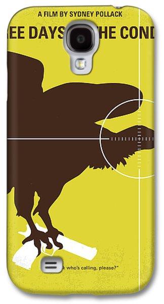 Condor Galaxy S4 Case - No659 My Three Days Of The Condor Minimal Movie Poster by Chungkong Art