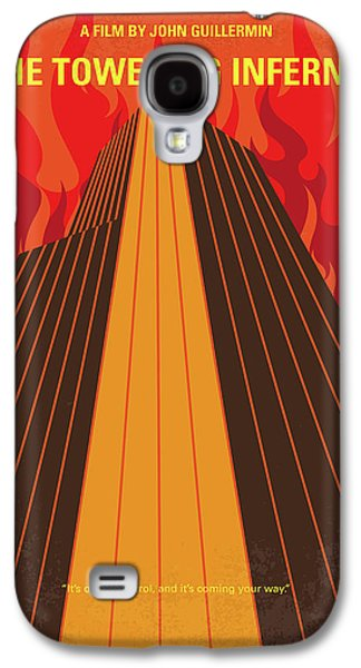 No665 My The Towering Inferno Minimal Movie Poster Galaxy S4 Case by Chungkong Art