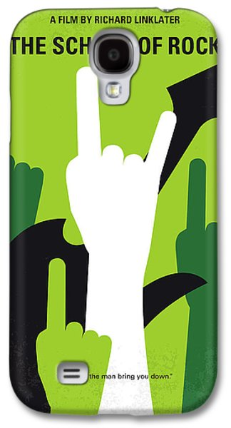 No668 My The School Of Rock Minimal Movie Poster Galaxy S4 Case by Chungkong Art