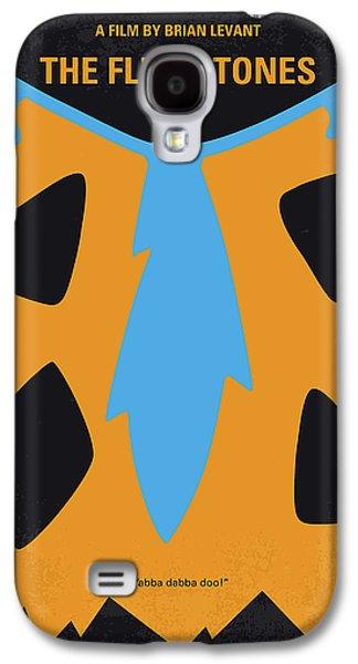 No669 My The Flintstones Minimal Movie Poster Galaxy S4 Case by Chungkong Art