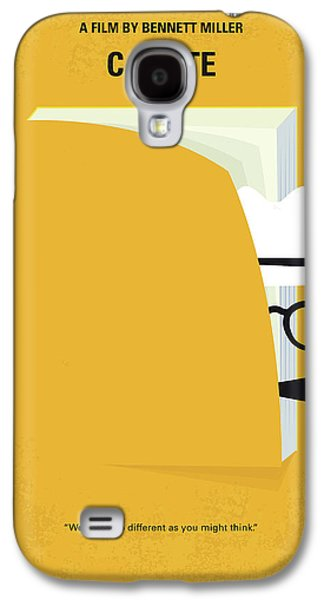No671 My Capote Minimal Movie Poster Galaxy S4 Case by Chungkong Art