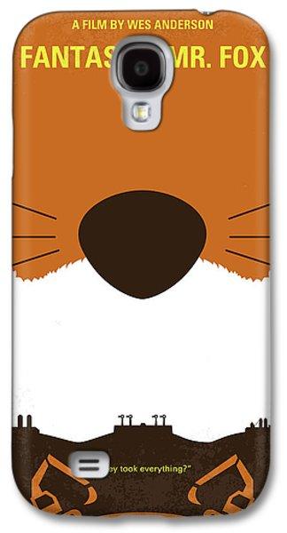 No673 My Fantastic Mr Fox Minimal Movie Poster Galaxy S4 Case by Chungkong Art