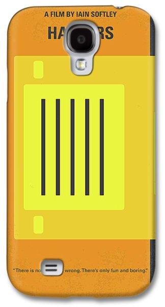 No684 My Hackers Minimal Movie Poster Galaxy S4 Case by Chungkong Art
