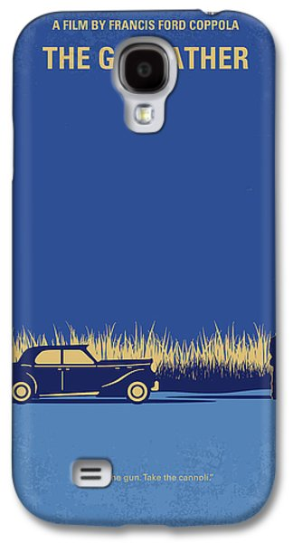 No686-1 My Godfather I Minimal Movie Poster Galaxy S4 Case by Chungkong Art