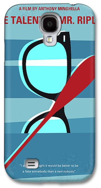 No694 My The Talented Mr Ripley Minimal Movie Poster Galaxy S4 Case
