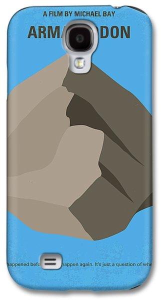 No695 My Armageddon Minimal Movie Poster Galaxy S4 Case