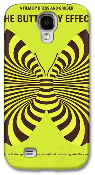 No697 My The Butterfly Effect Minimal Movie Poster Galaxy S4 Case by Chungkong Art