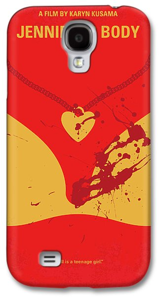 No698 My Jennifers Body Minimal Movie Poster Galaxy S4 Case