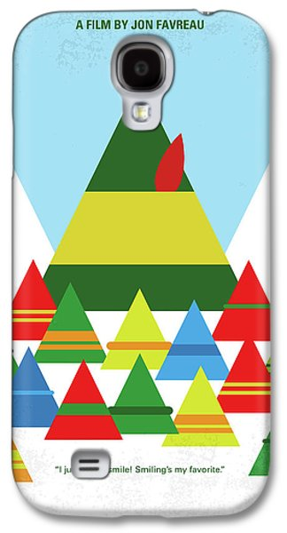 Elf Galaxy S4 Case - No699 My Elf Minimal Movie Poster by Chungkong Art